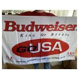 BUDWEISER OLYMPICS FLAG