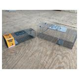 SQUIRREL AND RACCOON TRAP LOT