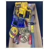 GRINDING WHEEL AND DRILL BIT LOT