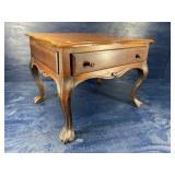 18TH CENTURY ROSEWOOD 1 DRAWER STAND