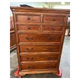 CHERRY TALL CHEST WITH 7 DRAWERS