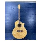 IBANEZ EXOTIC WOOD ACOUSTIC / ELECTRIC GUITAR