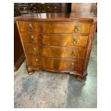 MAHOGANY 4 DRAWER CHEST BY HICKORY CHAIR