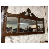 19 cent FEDERAL CARVED MIRROR