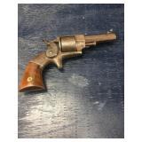 ALLEN & WHEELOCK  1858 22cal rimfire revolver