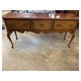 HICKORY CHAIR MAHOGANY QUEEN ANNE SIDEBOARD