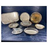 8 PIECES OF SILVER PLATE LOT