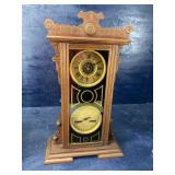 WATERBURY DOUBLE DAIL VICTORIAN CLOCK