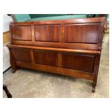 CHERRY KING SIZE SHEIGH BED
