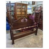 CHERRY TALL POST QUEEN SIZE BED