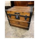 VERY RARE HALF SIZE TRUNK WITH FOLD DOWN FRONT