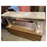 EARLY WATER BENCH THROUGH TOP