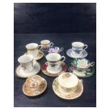 VARIOUS MAKERS CUPS AND SAUCERS SOME