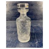 WATERFORD DECANTER 9 1/2 tall 4 inch wide
