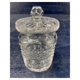 Waterford Condiment jar 4 1/2 tall