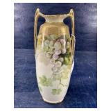 NIPPON VASE 12 1/2 in tall DOUBLE HANDLE