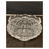 WATERFORD CRYSTAL  8 INCH FOOTED BOWL