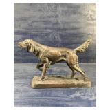 IRISH SETTER  TYPE HUNTING DOG FIGURE