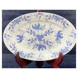 BAVARIA BLUE AND WHITE PLATTER