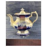 IRONSTONE #17 BLUE AND WHITE TEAPOT