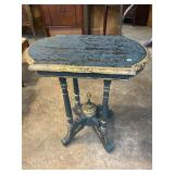 DISTRESS PAINTED SIDE TABLE