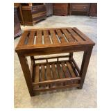 SLOTTED END TABLE