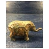 ANTIQUE CAST IRON CIRCUS ELEPHANT: NICE OLD