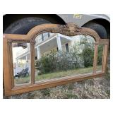 BEAUMONT CARVED TRIPLE MIRROR