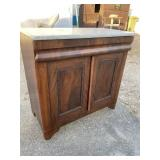 MARBLE TOP EMPIRE WASHSTAND