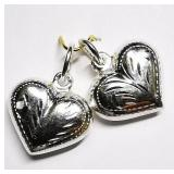 Silver Set of Two Pendants, MSRP $60