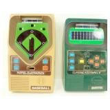 Mattel Baseball & Football Games - Both Work