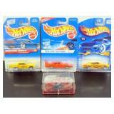 4 Mopar Hot Wheels -