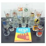 ** Lot of Mixed Craft and Small Brewery Glasses