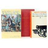 Two Hardcover Lincoln Books and Civil War OOK