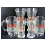 * Coors Beer Glass Lot