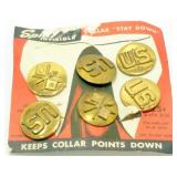 U.S. Army Pins - 3 Pairs