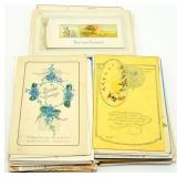 Vintage Post Cards - Easter, Merry Christmas,