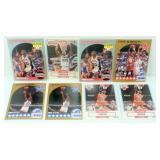 2 Michael Jordan 1990-91 Fleer, 2 Michael Jordan
