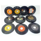 Assorted 45 RPM Records - Older Elvis, Etc.