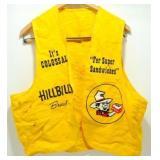 Vintage Hillbilly Bread Vest - Great Graphics,