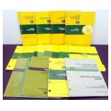 Eighteen John Deere Lawn Tractor Manuals -