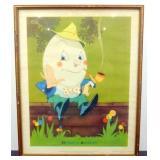 * 1938 Kellogg Company Vernon Grant Humpty Dumpty