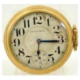 Old South Bend Pocket Watch - 15 Jewel, 10k Gold