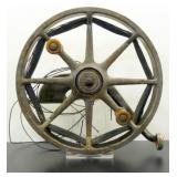 Antique Fishing Reel Goite Real Reels Co. -