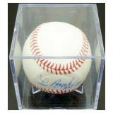 Lou Brock Autographed HOF 1985 Major League
