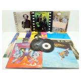 19 Vintage LPs plus a Few 45s - Boston, Van