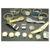18 Vintage Wristwatches - Manson, Ingraham,