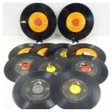 11 Vintage Elvis Presley 45 RPM Records
