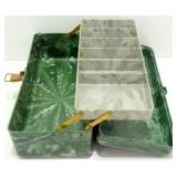 * Vintage Plano Beachcomber Tackle Box - Green,