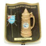 * Antique Old Style Stein Series Sign
